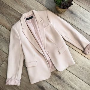Adorable blush pink The Limited blazer